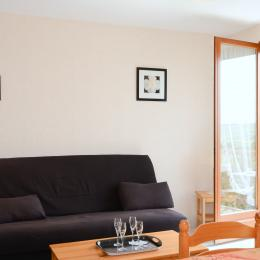 Salon avec vue dégagée sur paysage  - Location de vacances - Villers-sous-Châtillon