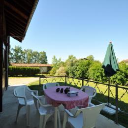 Salon de jardin, barbecue - Location de vacances - Châtillon-sur-Broué