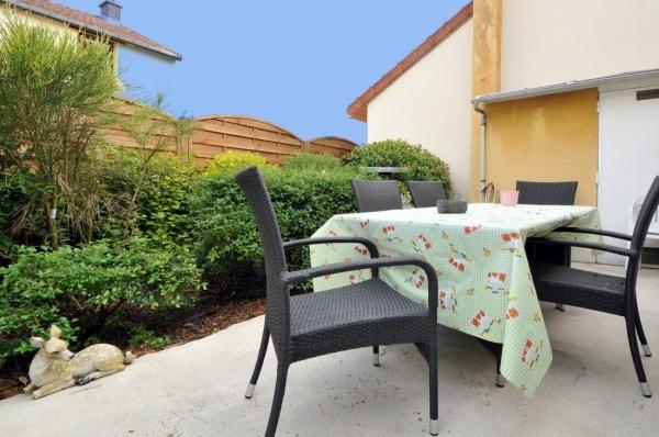 Espace terrasse - Location de vacances - Bouzy