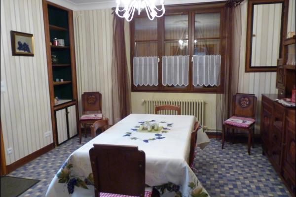 Salle à manger - Location de vacances - Bouzy