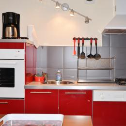 Cuisine intégrée moder et fonctionnelle - Location de vacances - Cormoyeux