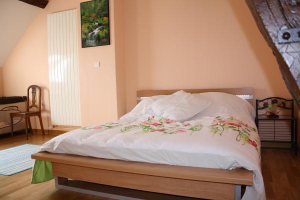 Grande chambre pour 2 personnes - Location de vacances - Fèrebrianges