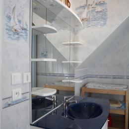 Grande salle de bain - Location de vacances - Fèrebrianges