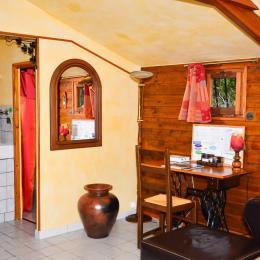 Espace bureau - Location de vacances - Prouilly