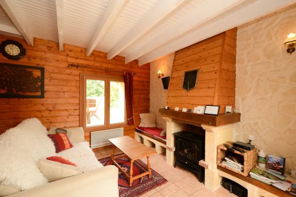 Un petit salon bien 'cosy' - Location de vacances - Sept-Saulx