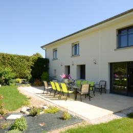 terrasse de 35 m 2 avec jardin clos 1000 m2 - Location de vacances - Soudron