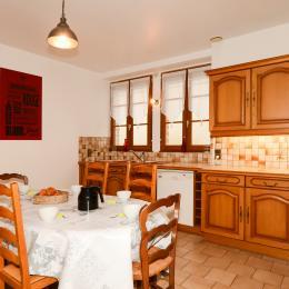 Grande cuisine aménagée - Location de vacances - Ambonnay