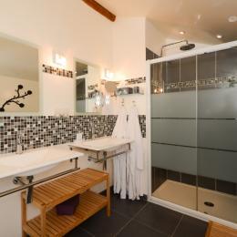salle d'eau - Chambre d'hôtes - Compertrix