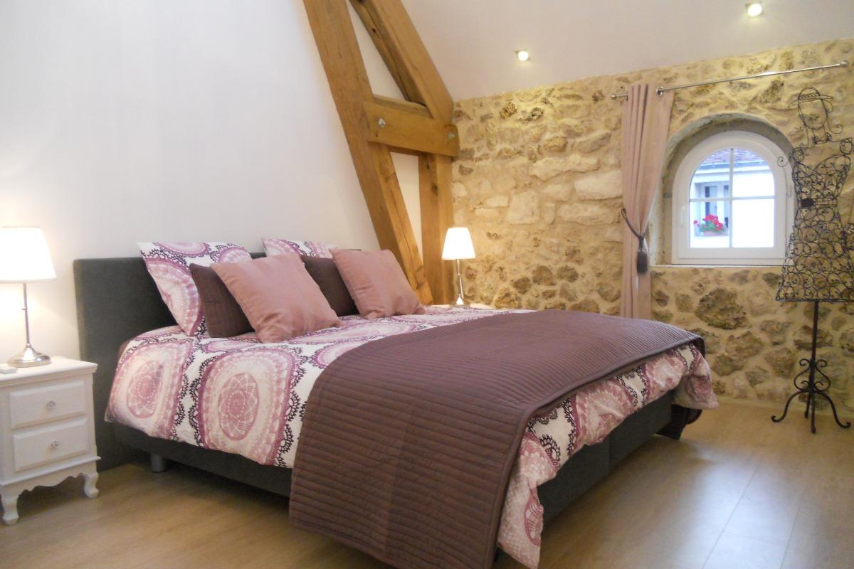 Chambre Améthyste - Chambre d'hôtes - Mareuil-le-Port