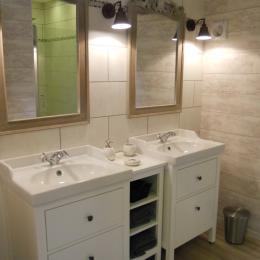 Salle de bain Topaze - Chambre d'hôtes - Mareuil-le-Port