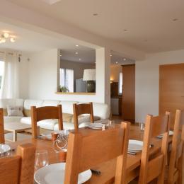 Salle à manger Location Ma Deuxième Maison - Location de vacances - Écury-sur-Coole