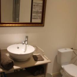 Salle d'eau et wc attenant et privatif - Chambre d'hôtes - Villers-sous-Châtillon
