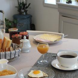 Petit déjeuner gourmand. - Chambre d'hôtes - Villers-sous-Châtillon