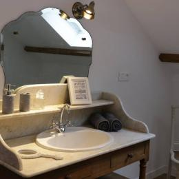 Salle d'eau La Garence - Chambre d'hôtes - Villers-sous-Châtillon