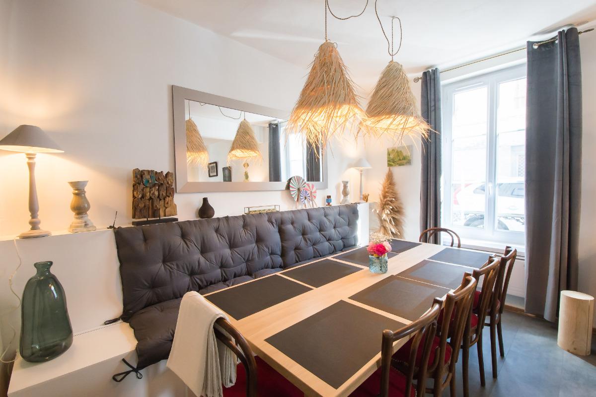Salle à manger - Location de vacances - Châlons-en-Champagne