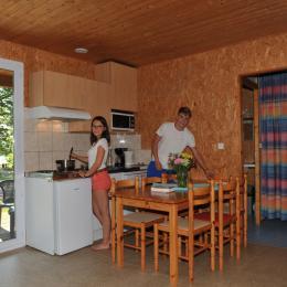 Intérieur chalet - Location de vacances - Longeau-Percey