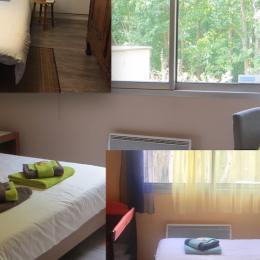 Les Tamaris avec lit double et télévision - Chambre d'hôtes - Villers-lès-Nancy