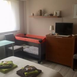 Les Dunes avec lits jumeaux et télévision - Chambre d'hôtes - Villers-lès-Nancy
