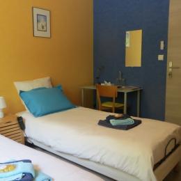 2 lits jumeaux 80 x 200 (et lit bébé si souhaité) - Chambre d'hôtes - Villers-lès-Nancy