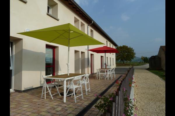 Terrasses gites - Location de vacances - Belleau
