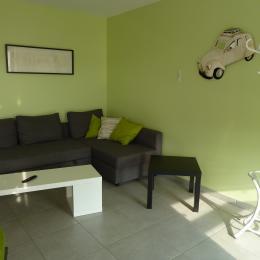 Espace salon - Location de vacances - Belleau