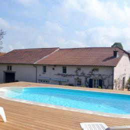Piscine et maison - Gîtes du Holit proche du lac de Madine - Location de vacances - Pannes