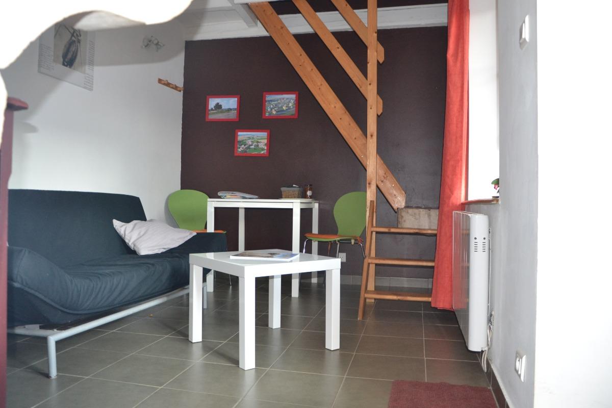Pièce de vie - Gîtes du Holit à Pannes proche de Commercy Toul Saint Mihiel - Location de vacances - Pannes