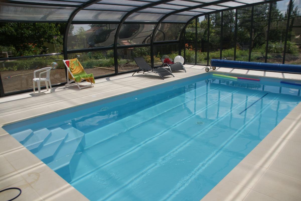 Piscine ouverte période estivale - Location de vacances - Goviller