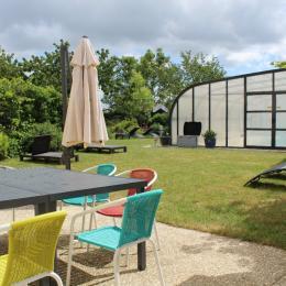 Jardin piscine le Mont d'Anon - Location de vacances - Goviller