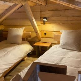 Espace nuit étage, Jules Verne - Les Cabanes du Lac de Pierre Percée - Chambre d'hôtes - Badonviller