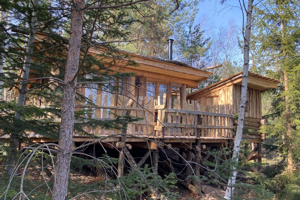 Bergerie du lac et son sauna - Les Cabanes du Lac de Pierre Percée - Chambre d'hôtes - Badonviller