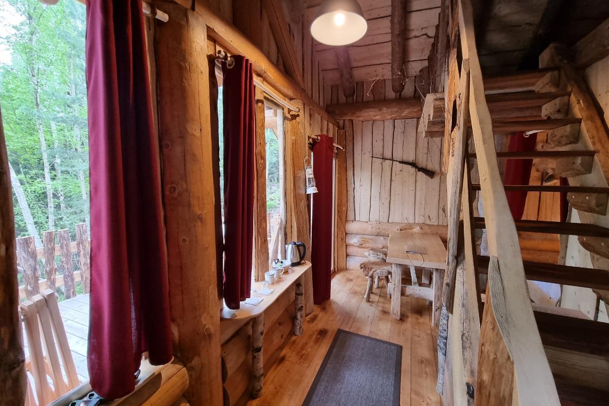 Fuste du Trappeur - Les Cabanes du Lac de Pierre Percée - Chambre d'hôtes - Badonviller