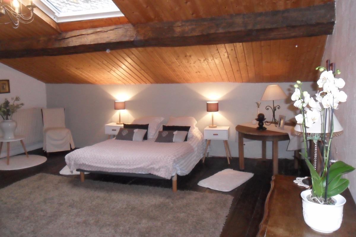 Chambre 1 - Location de vacances - Heudicourt-sous-les-Côtes