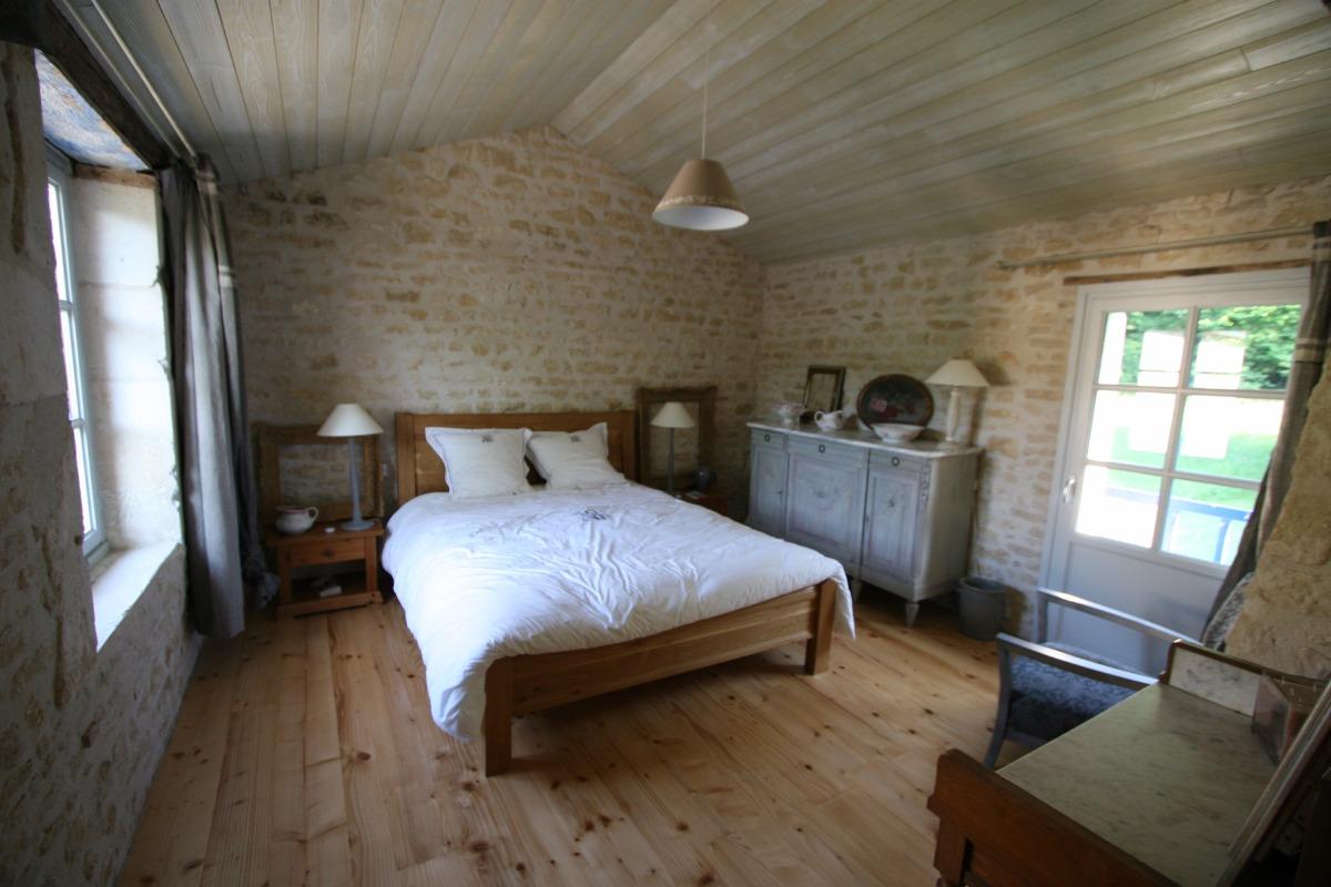 Chambre principale - Gîte d'Herbeauchamp - Location de vacances - Fresnes-au-Mont