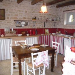 Cuisine - Location de vacances - Fresnes-au-Mont