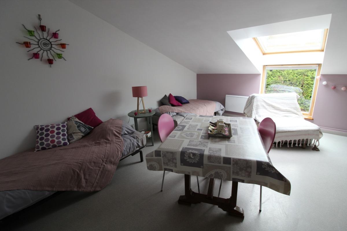 2 lits indépendants modulables - Location de vacances - Lachaussée