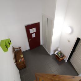 couloir - Chambre d'hôtes - Lachaussée