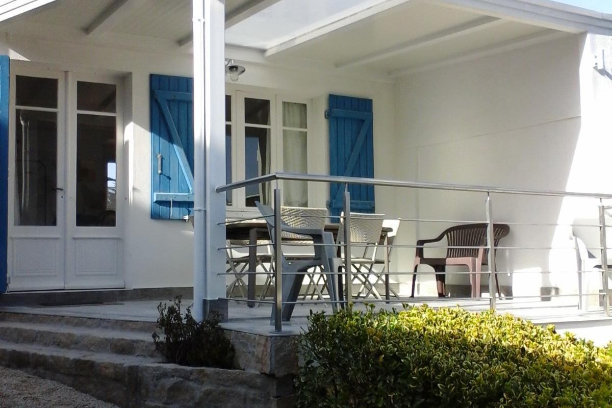 terrasse - Location de vacances - Quiberon