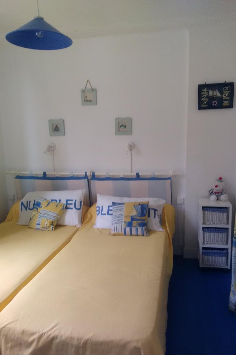 chambre 2 lit simples - Location de vacances - Quiberon