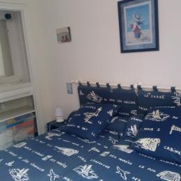 chambre 2 places avec cabinet de toilette - Location de vacances - Quiberon