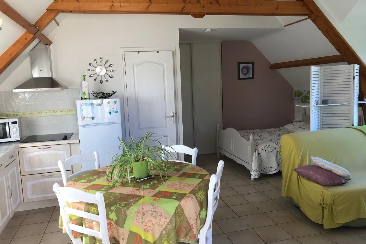 Ker Tropic charmant et lumineux studio avec jardin privatif en RDC - Location de vacances - Baden