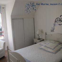 Ker Marine chambre parentale - Location de vacances - Baden