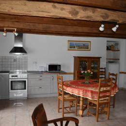 cuisine séjour - Location de vacances - Saint-Marcel
