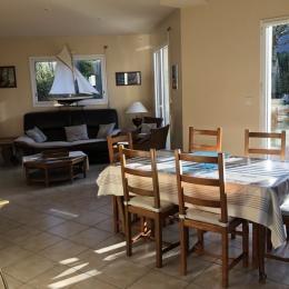Salle à manger salon - Location de vacances - Arzon