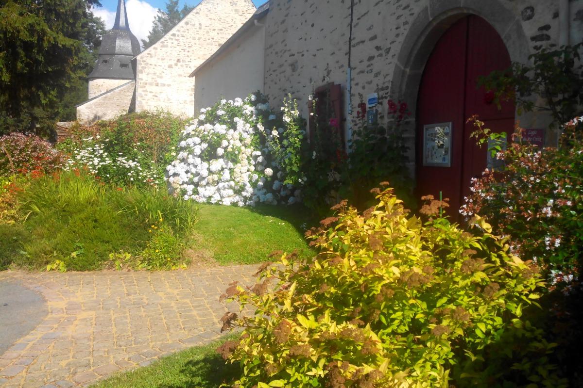 parc détente des gites Logis de ste Croix Josselin - Location de vacances - Josselin