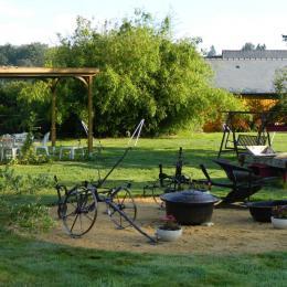 Gite Brocéliande accessible aux PMR aux Logis de Ste Croix Josselin - Location de vacances - Josselin