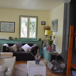 espace salon - Location de vacances - Groix