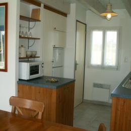 Cuisine  - Location de vacances - Locmaria