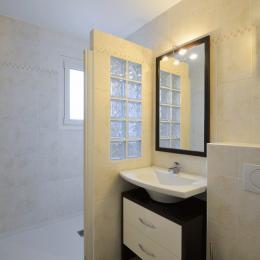 vue de la terrasse - Location de vacances - Larmor-Plage