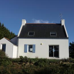 Façade ouest de la maison  - Location de vacances - Groix